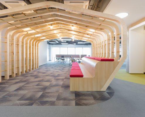 Офис сбербанка коридор