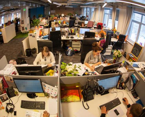 Офис Киви рабочее пространство