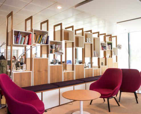 читальная зона в офисе