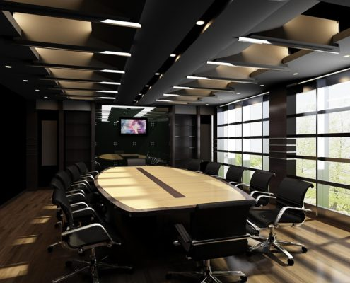 Черновой ремонт офисных помещений