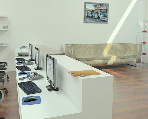 Ремонт стен в офисе